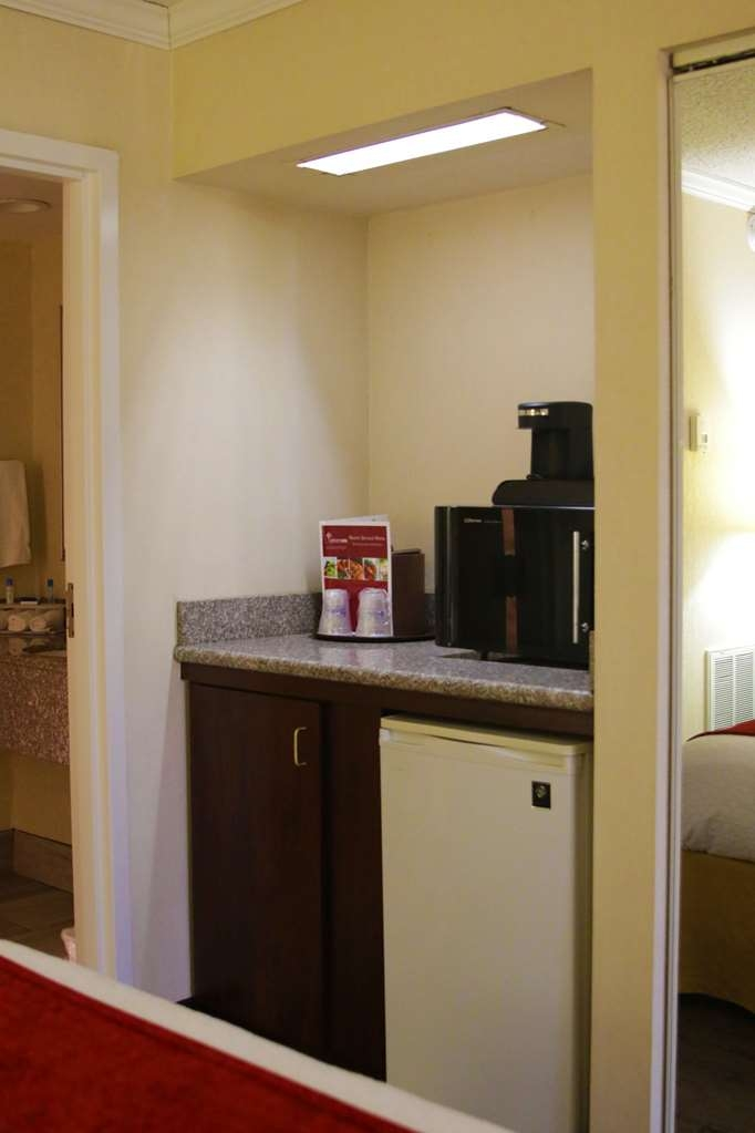 Best Western Plus Galleria Inn & Suites - Our Deluxe King Room comes with a microwave and fridge.