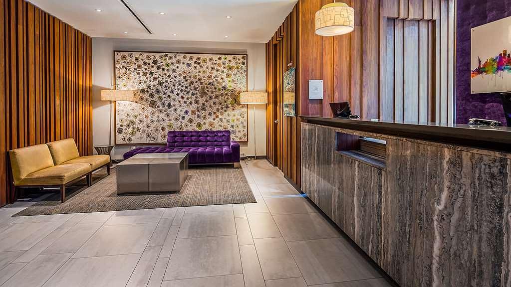 Cerraban Mamparas De Bano.Hotel En New York Best Western Premier Herald Square