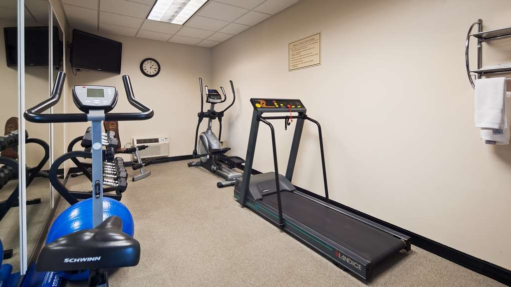 Best Western The Inn at the Fairgrounds - Fitnessstudio