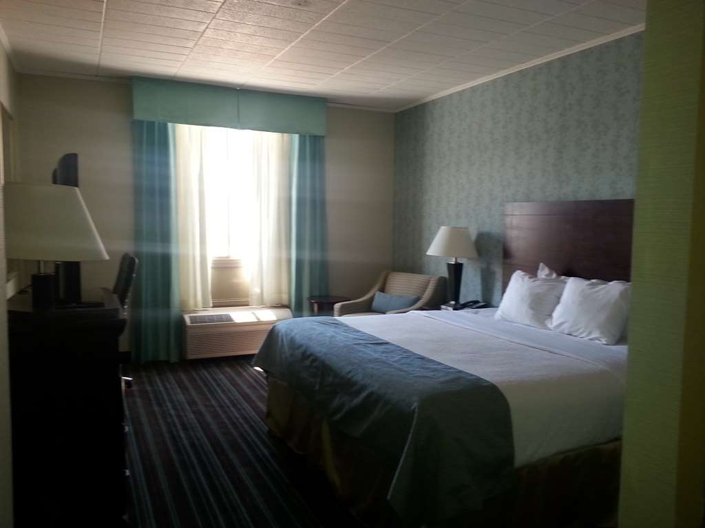 Best Western Plus Lockport Hotel - Immediately feel at home when you walk into this executive king guest room.