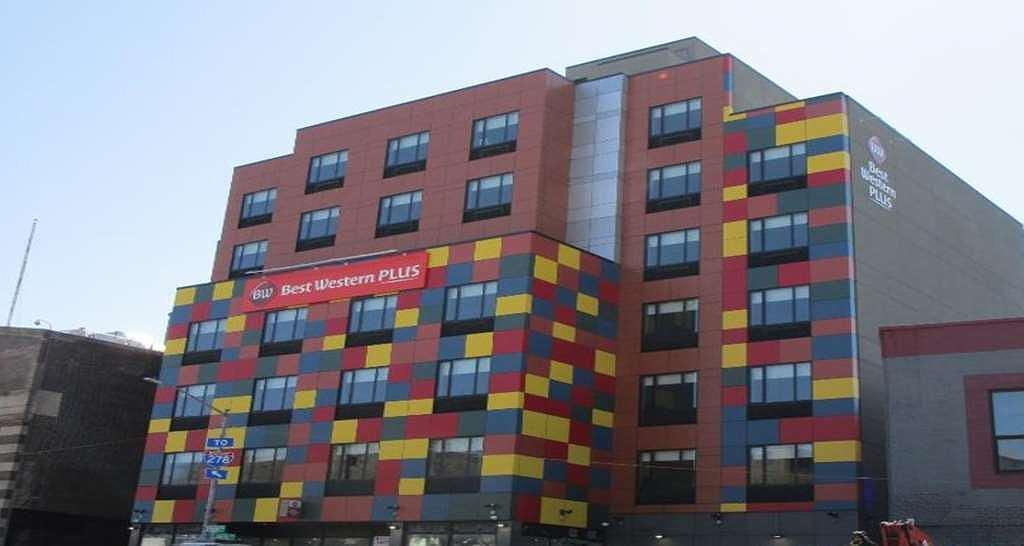 Best Western Plus City Line Hotel - Vue extérieure