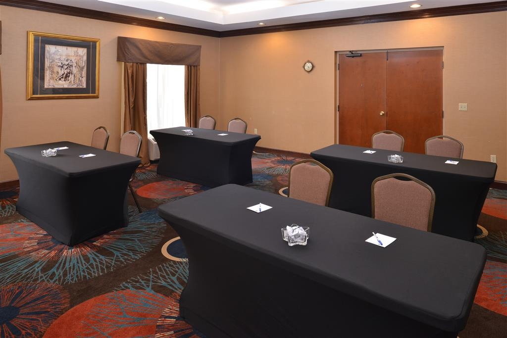 Best Western Plus Greensboro/Coliseum Area - Windsor Room - Classroom Style Set up