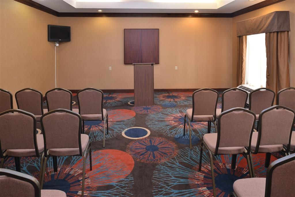Best Western Plus Greensboro/Coliseum Area - Windsor Room- Theater Style Set Up
