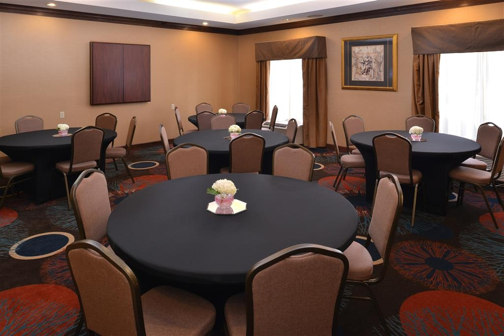 Best Western Plus Greensboro/Coliseum Area - Windsor Room- Banquet Style Set Up