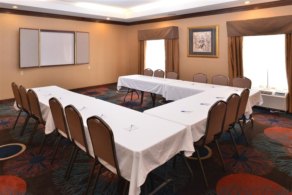 Best Western Plus Greensboro/Coliseum Area - Windsor Room- Conference Style Set Up