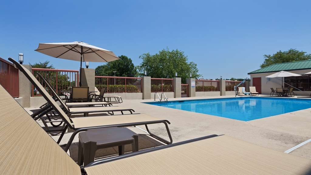 Best Western Lumberton - Vue de la piscine