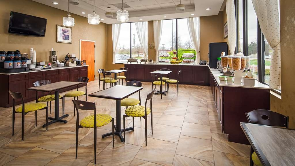 Best Western Inn & Suites - Monroe - Breakfast Area