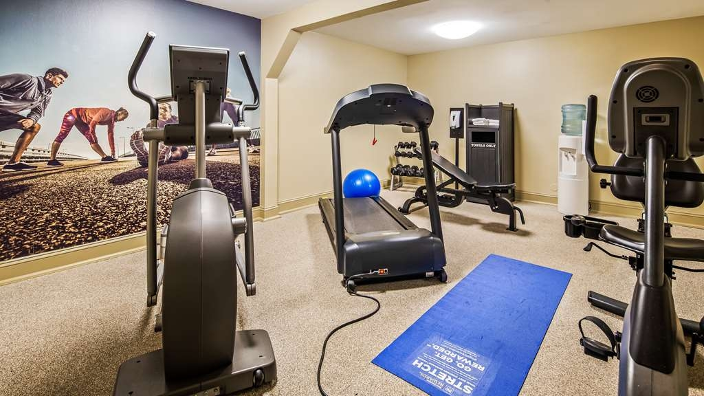 Best Western Plus Coastline Inn - Fitnessstudio