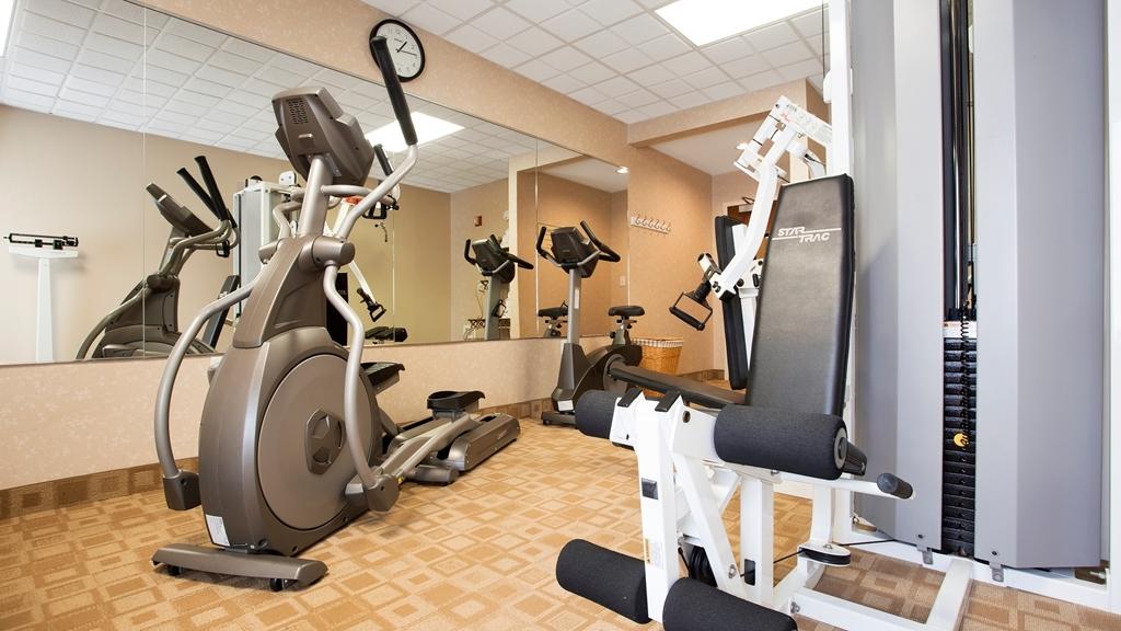 Best Western Plus Edison Inn - Club de salud