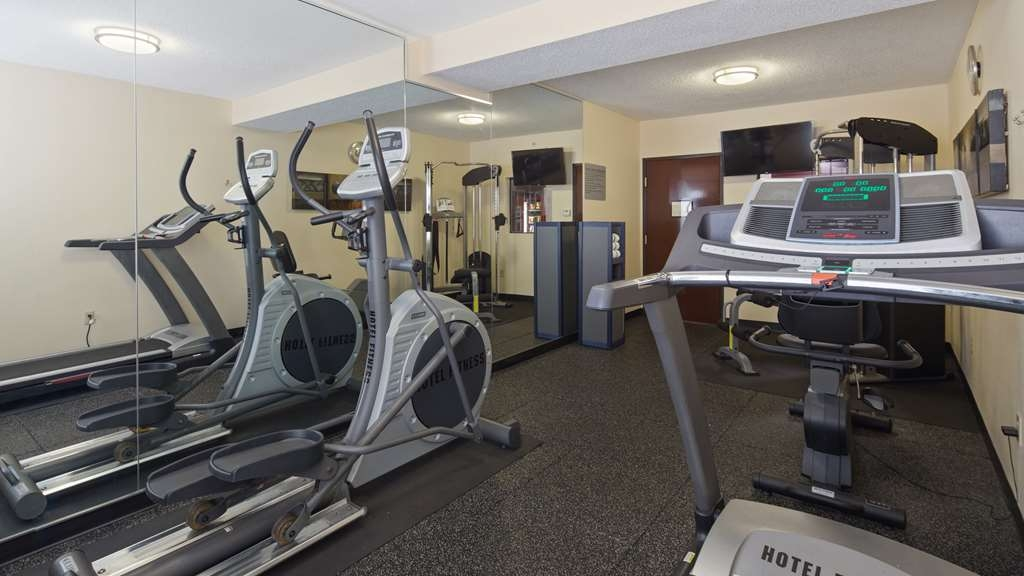 Best Western Plus Huntersville Inn & Suites Near Lake Norman - Re-energize with a brisk work out in our 24-hour fitness center.