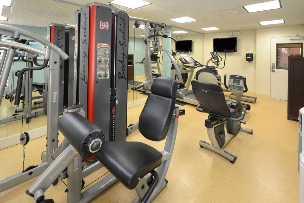 Best Western Plus Wilmington/Wrightsville Beach - The fitness center at our Wilmington hotel will keep you active while in town on business.