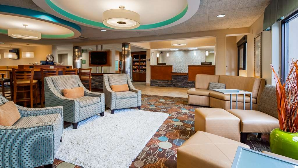 Best Western Plus Wilmington/Wrightsville Beach - Vue du lobby