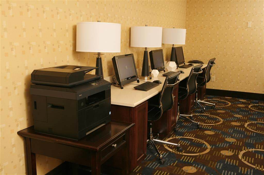 Best Western Plus Goldsboro - Our business center is available to help you prepare and print travel itineraries, send emails or browse the web.