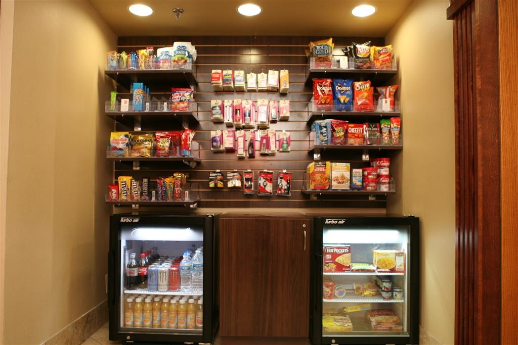 Best Western Plus Goldsboro - Craving a snack or something to drink? Stop by our on-site snack shop.