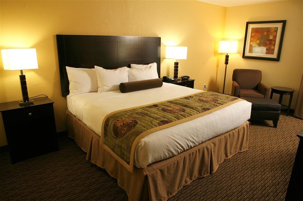 Best Western Plus Goldsboro - Single King Guest Room