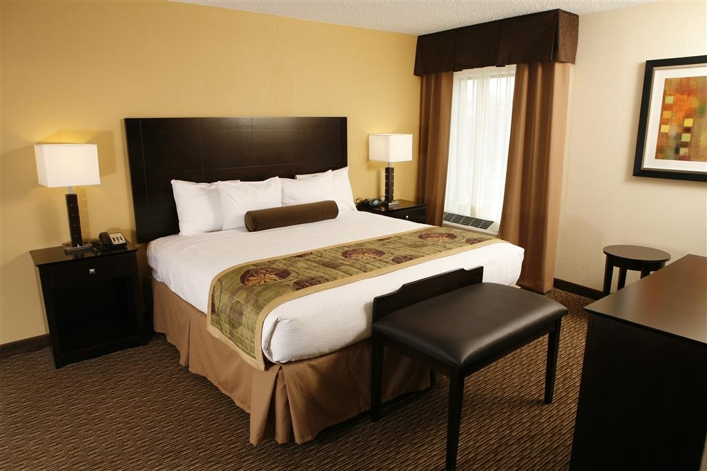 Best Western Plus Goldsboro - Enjoy extra space in our two room suite with a king bed!
