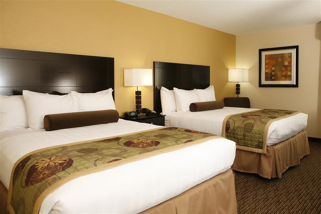 Best Western Plus Goldsboro - Double queen guest room.