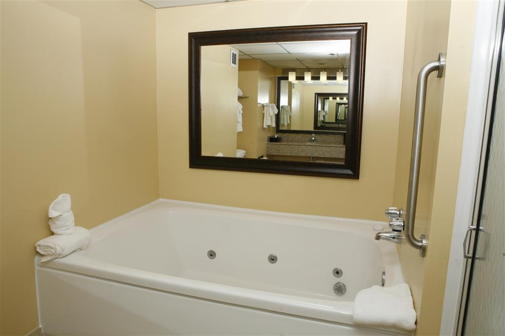 Best Western Plus Goldsboro - Go ahead, relax! Our two room suite has a whirlpool tub!