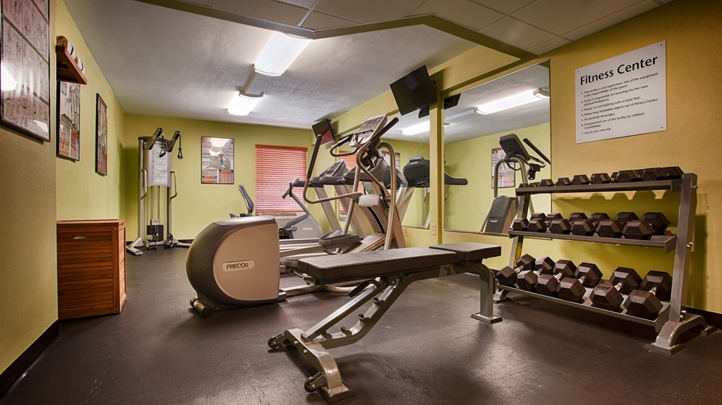 Best Western Plus Goldsboro - Sala fitness