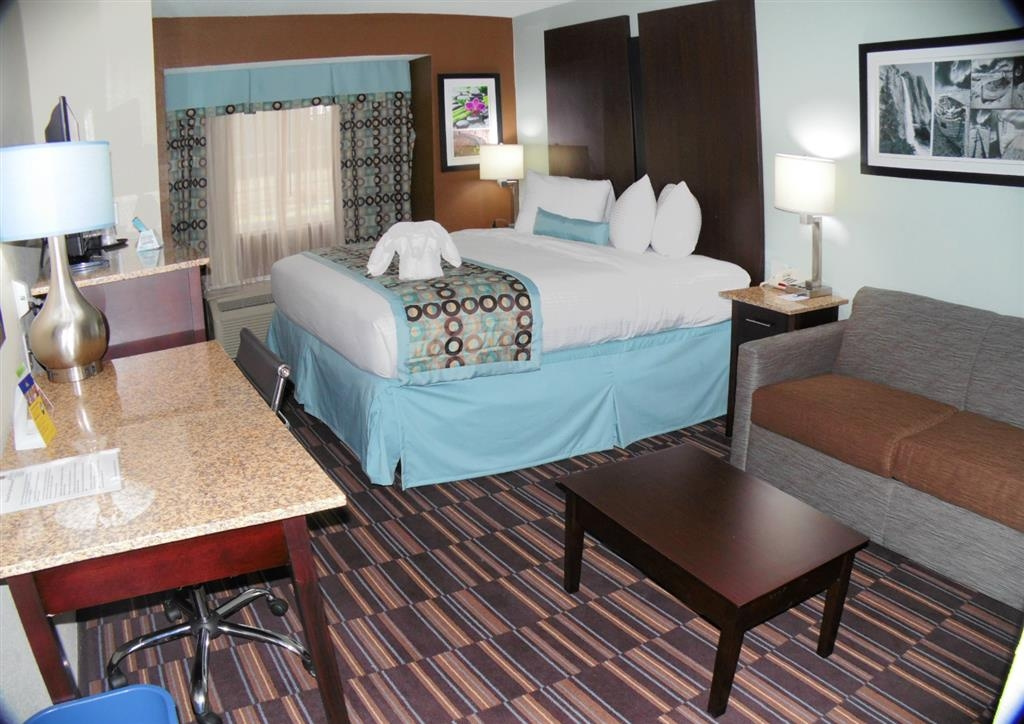 Best Western Plus Elizabeth City Inn & Suites - Chambre standard avec lit king size