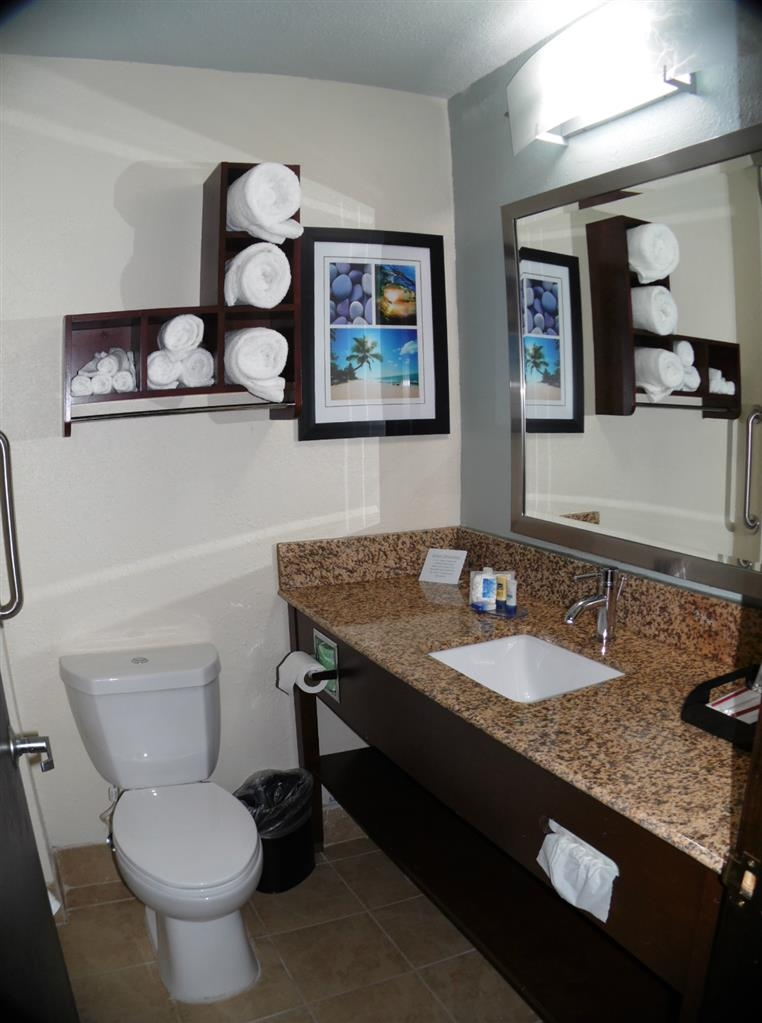Best Western Plus Elizabeth City Inn & Suites - Salle de bain standard