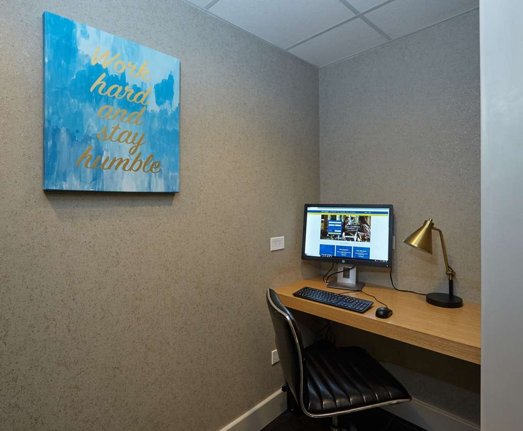 Best Western Plus University Inn - Stay Connected with Our 24-Hour Business Center and Complimentary WiFi Throughout the Hotel