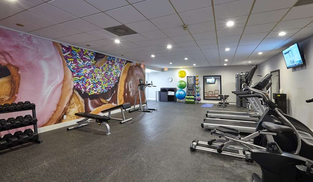 Best Western Plus University Inn - Newly Installed Fitness Center with Traditional and Non-Traditional Equipment