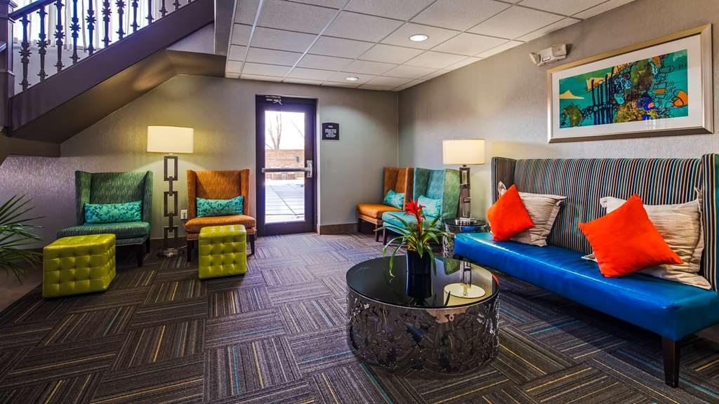 Best Western Plus Pineville-Charlotte South - First impression are the most important,and our chic lobby is no exception to that rule. We've added the extra touches to ensure that your stay is the best it can be.