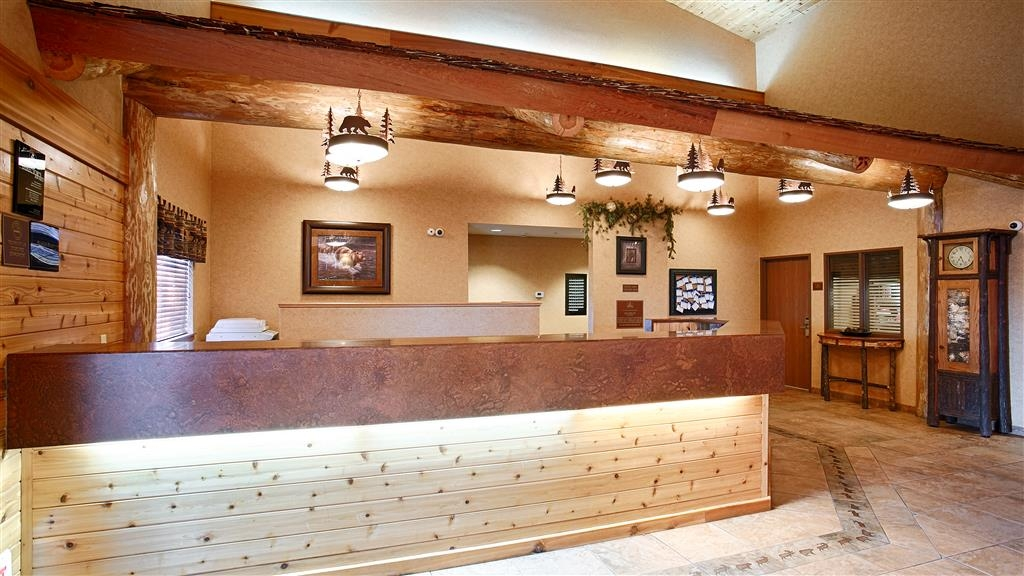 Best Western Plus Kelly Inn & Suites - Réception