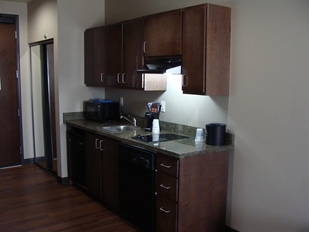 Best Western Plus Williston Hotel & Suites - Staying awhile? Try our suite bedrooms featuring kitchenettes.