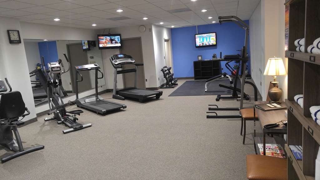Best Western Wooster Hotel - Our fitness center allows you to keep up with your home routine...even when you're not at home.