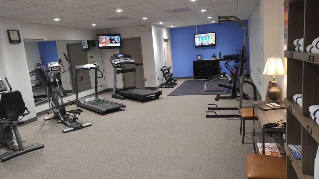 Best Western Wooster Hotel - sala de ejercicios