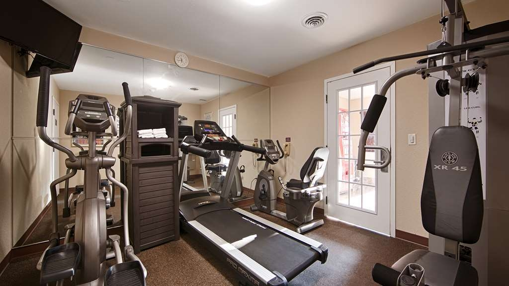 Best Western Executive Inn - Our fitness center allows you to keep up with your home routine… even when you're not at home.