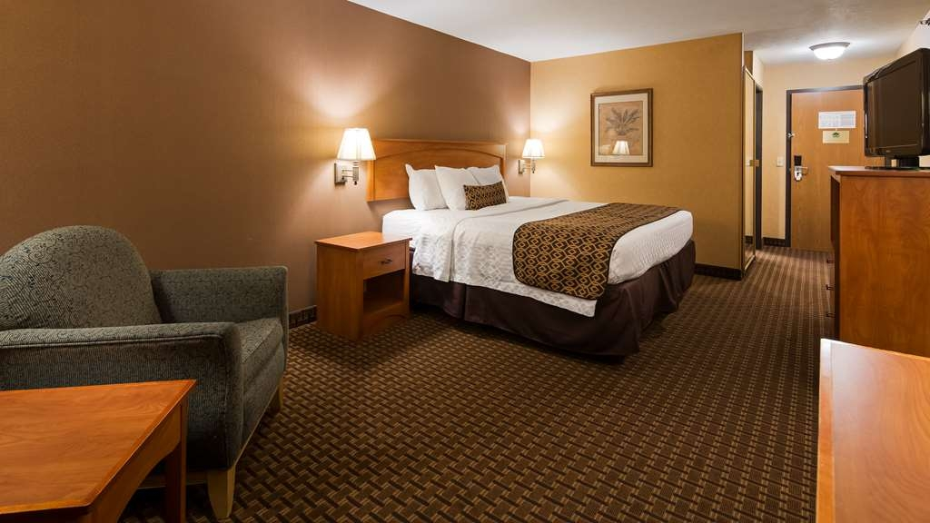 Best Western Plus North Canton Inn & Suites - Relax after a long day of travel in our king guest room.