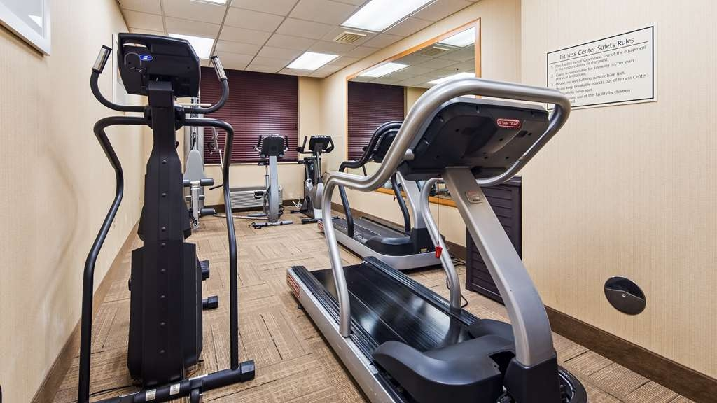 Best Western Airport Inn & Suites Cleveland - Club de salud