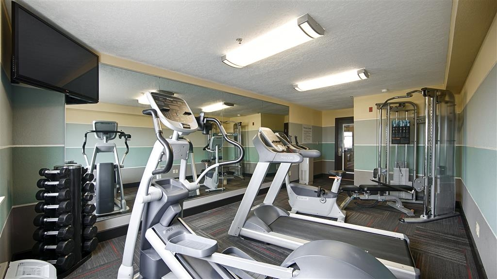 Best Western Norwalk - Our fitness center allows you to keep up with your home routine… even when you're not at home.