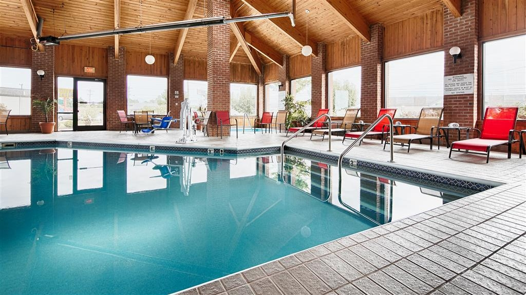 Best Western Norwalk - Don't let the weather stop you from jumping in, our indoor pool is heated year-round for you and your friends.
