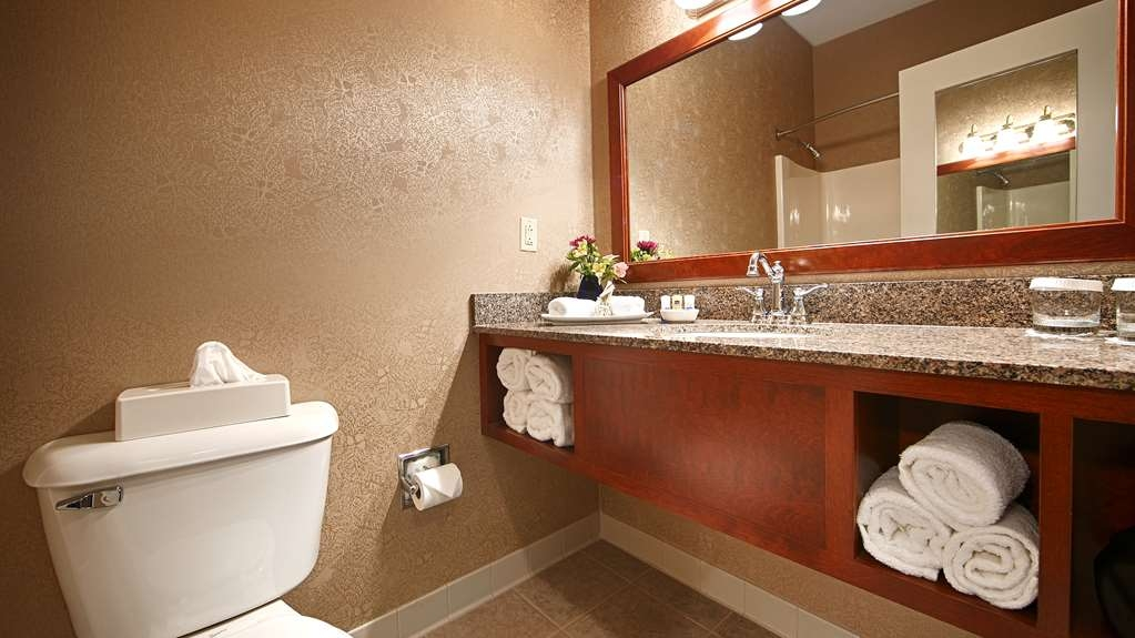 Best Western Plus Lawnfield Inn & Suites - Salle de bain