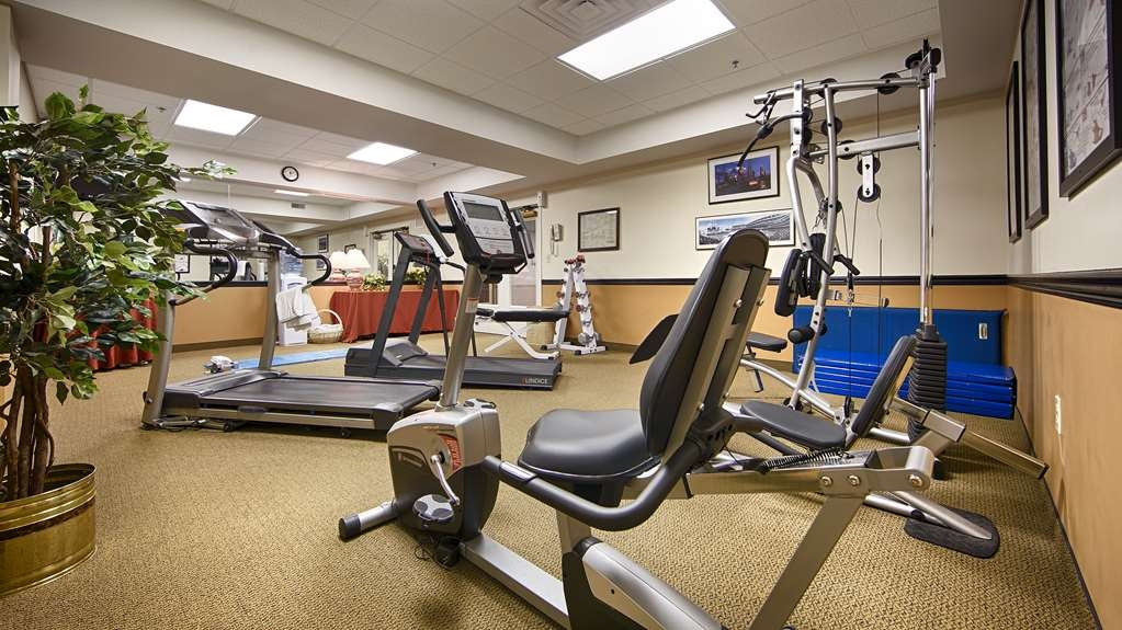 Best Western Plus Lawnfield Inn & Suites - exercise chambre