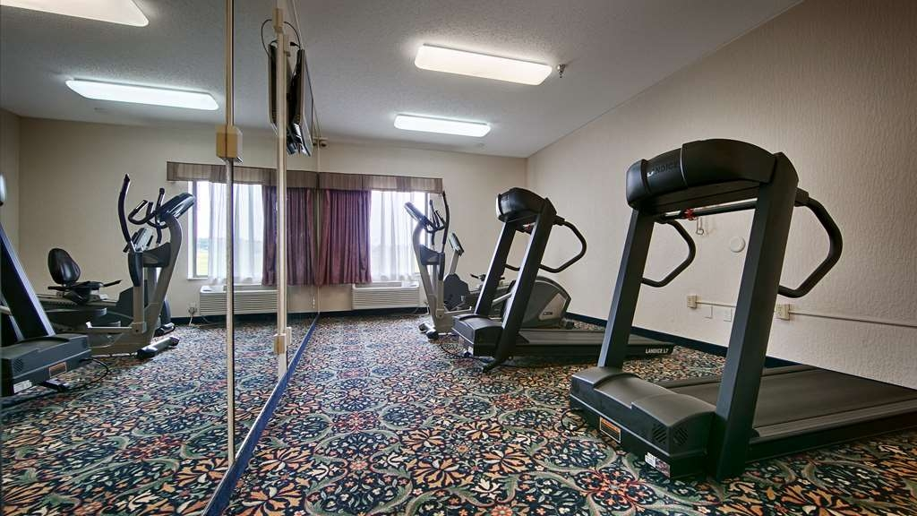 Best Western B. R. Guest - Our fitness center allows you to keep up with your home routine… even when you're not at home.