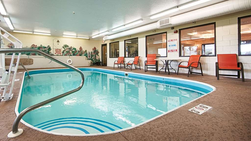 Best Western B. R. Guest - Our indoor pool is the perfect place to rejuvenate after a day of traveling.