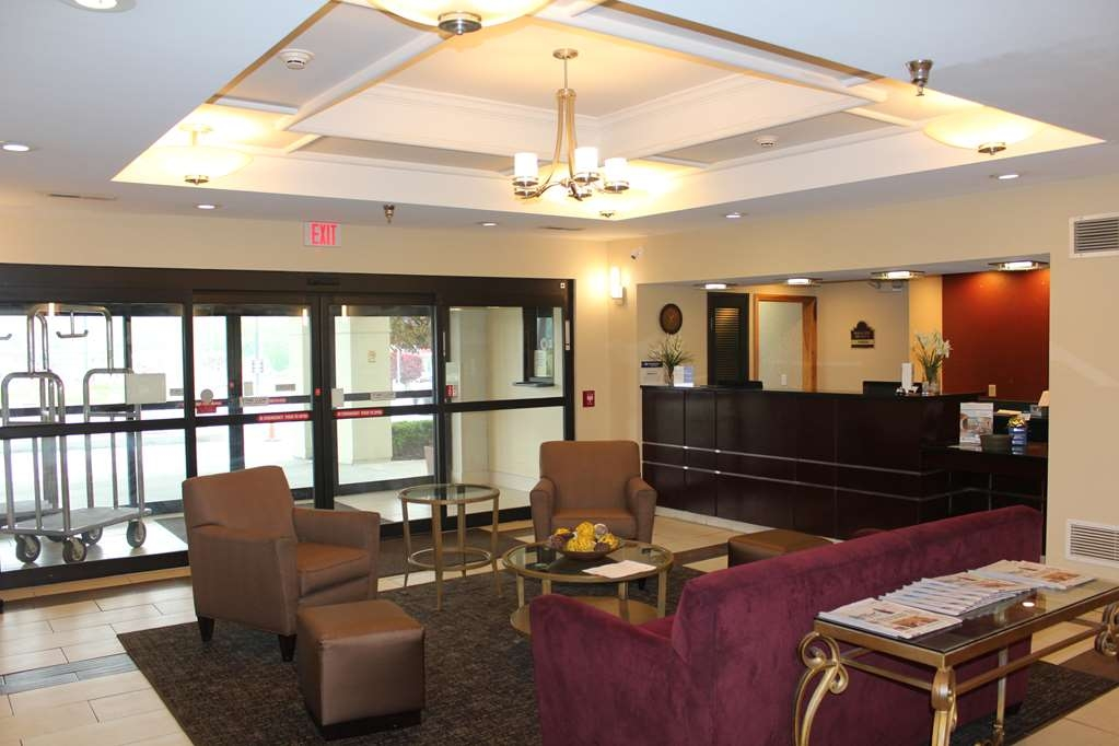 Best Western B. R. Guest - Our 24-hour front desk will go above and beyond to provide you exceptional customer care from check-in to check-out.