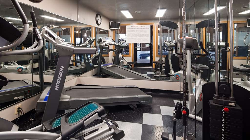 Best Western Lakewood Inn - Fitnessstudio