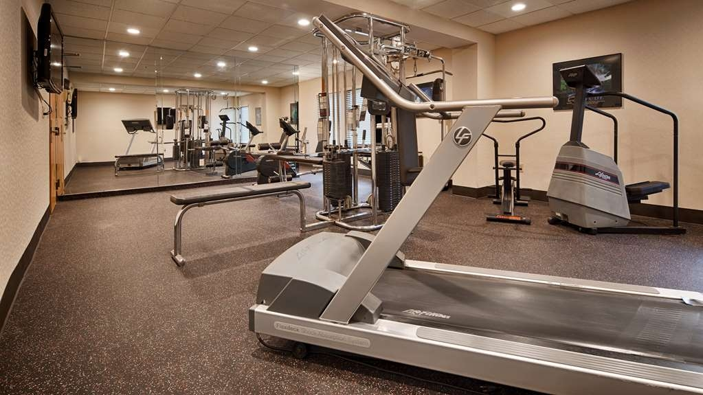 Best Western Plus Dayton Northwest - Our fitness center is outfitted with everything you need for a great workout.