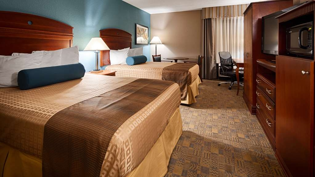 Best Western Plus Dayton Northwest - Sink into our comfortable beds each night and wake up feeling completely refreshed.