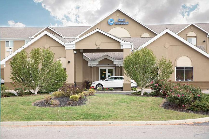 Best Western Port Columbus - Area esterna