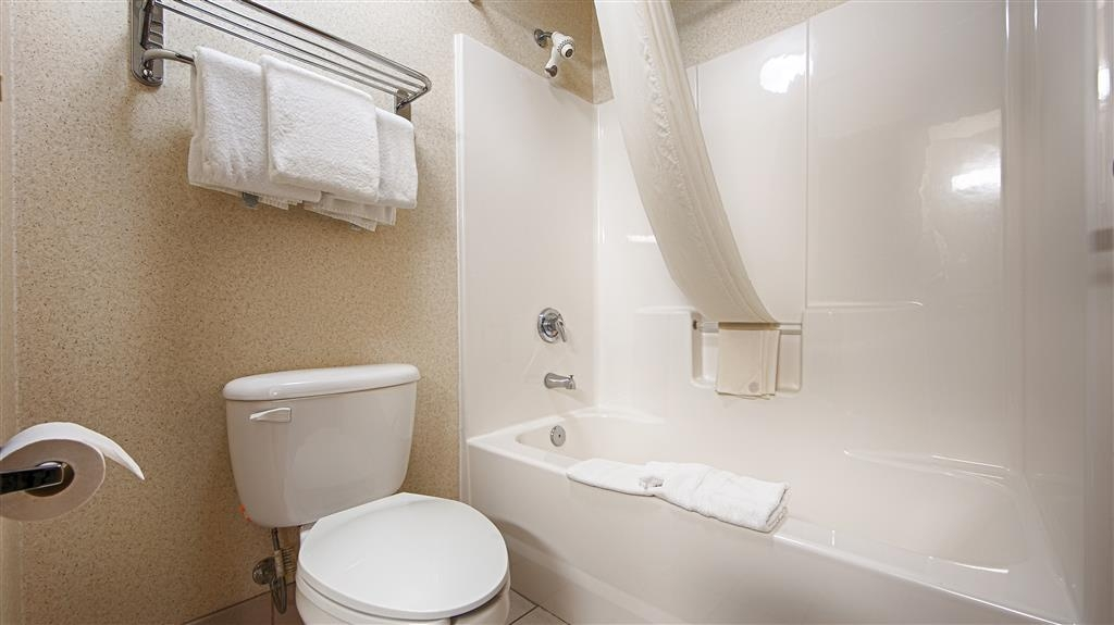 Best Western Port Columbus - Enjoy getting ready for the day in our fully equipped guest bathrooms.