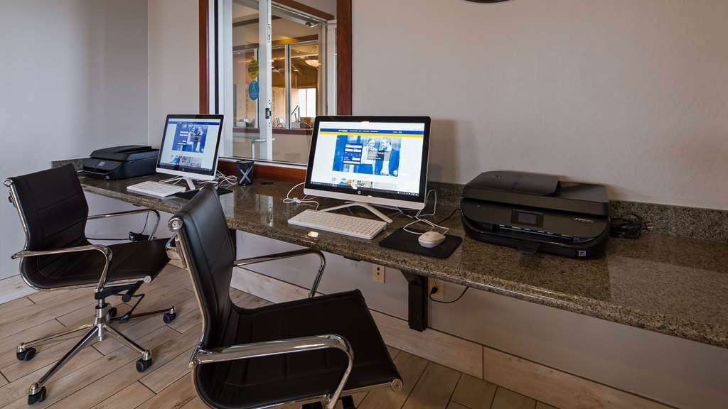 Best Western Port Columbus - Our business center offers free high-speed internet access.