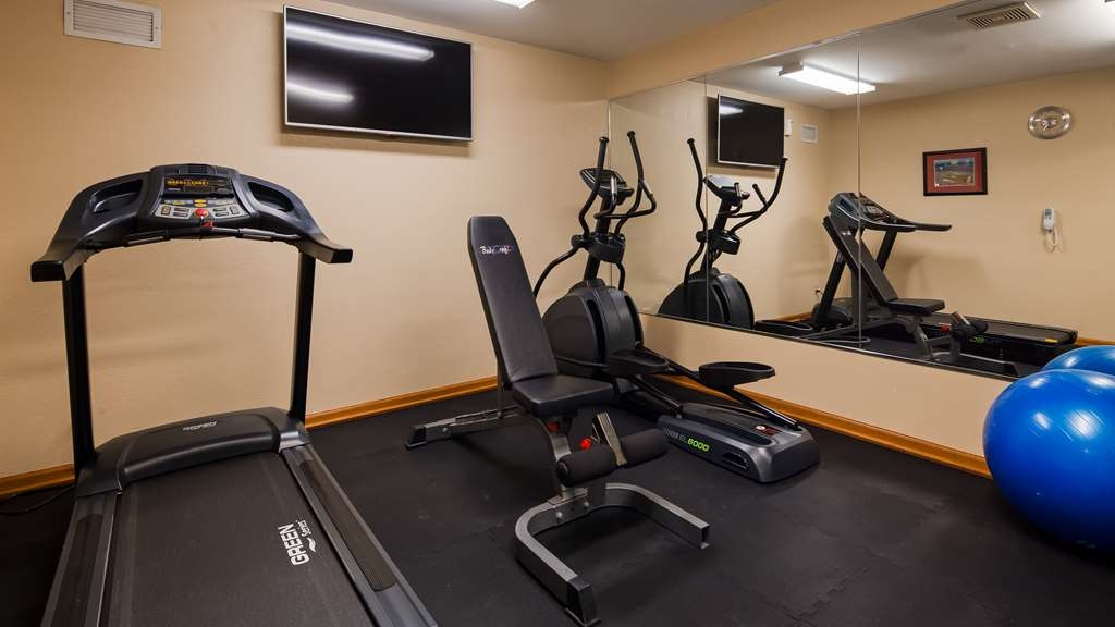 Best Western Port Columbus - Our fitness center is outfitted with everything you need for a great workout.
