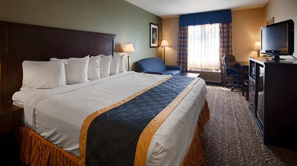 Best Western Richland Inn-Mansfield - King Bed Room